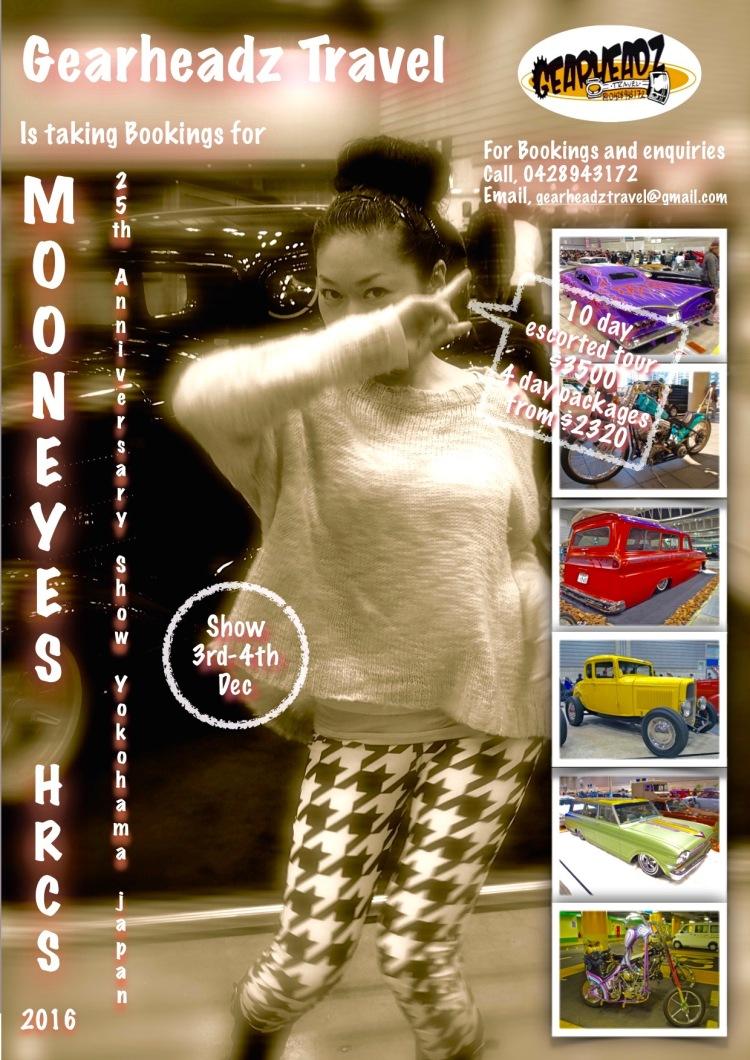Mooneyes 2016 flyer